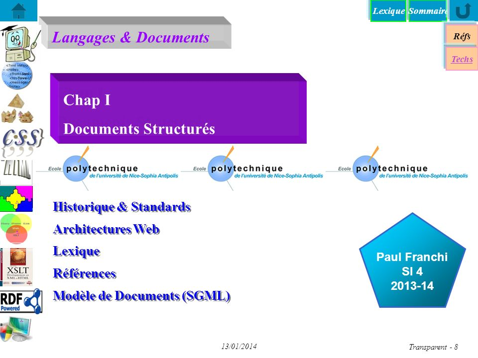 Chap I Documents Structurés