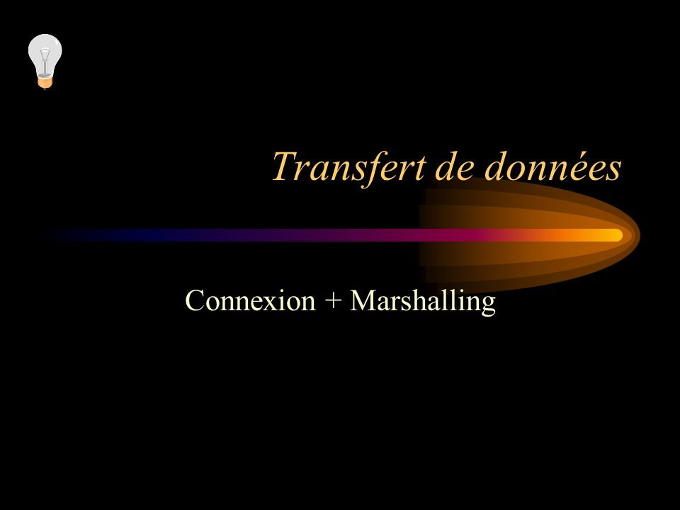 Connexion + Marshalling