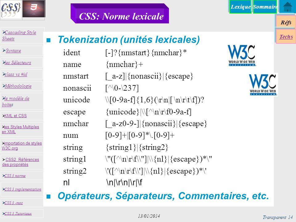 Tokenization (unités lexicales)