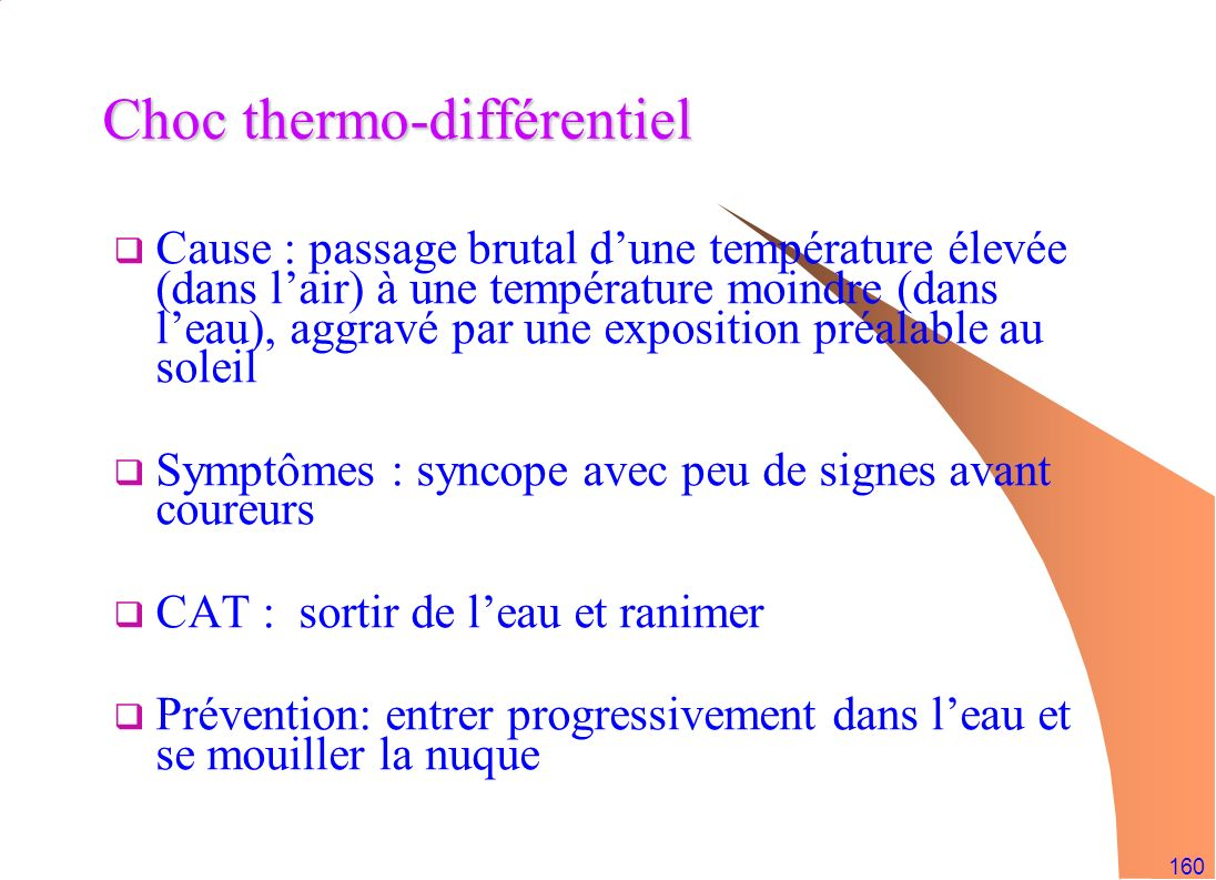 Choc thermo-différentiel