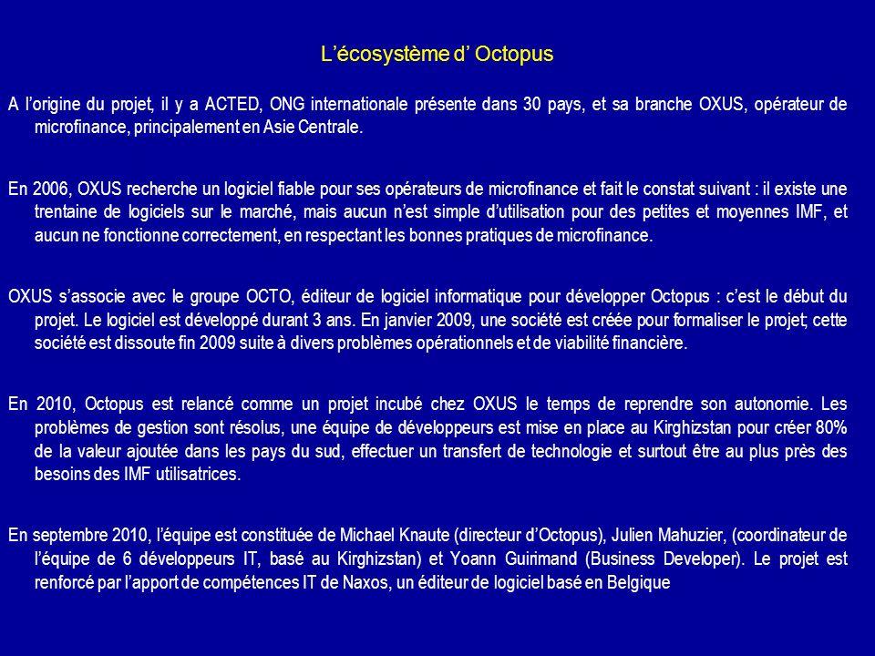 L'écosystème d' Octopus