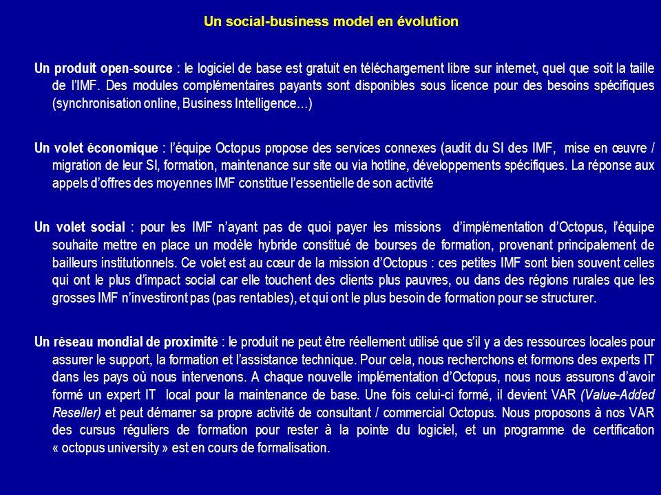 Un social-business model en évolution