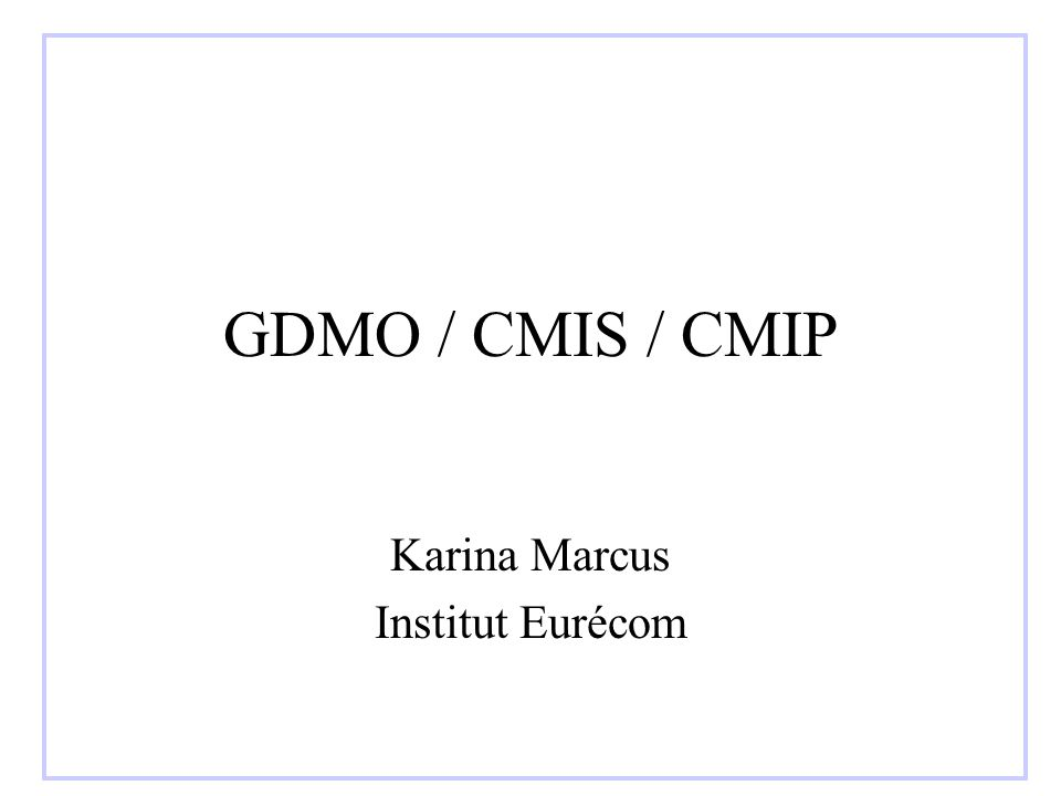 Karina Marcus Institut Eurécom