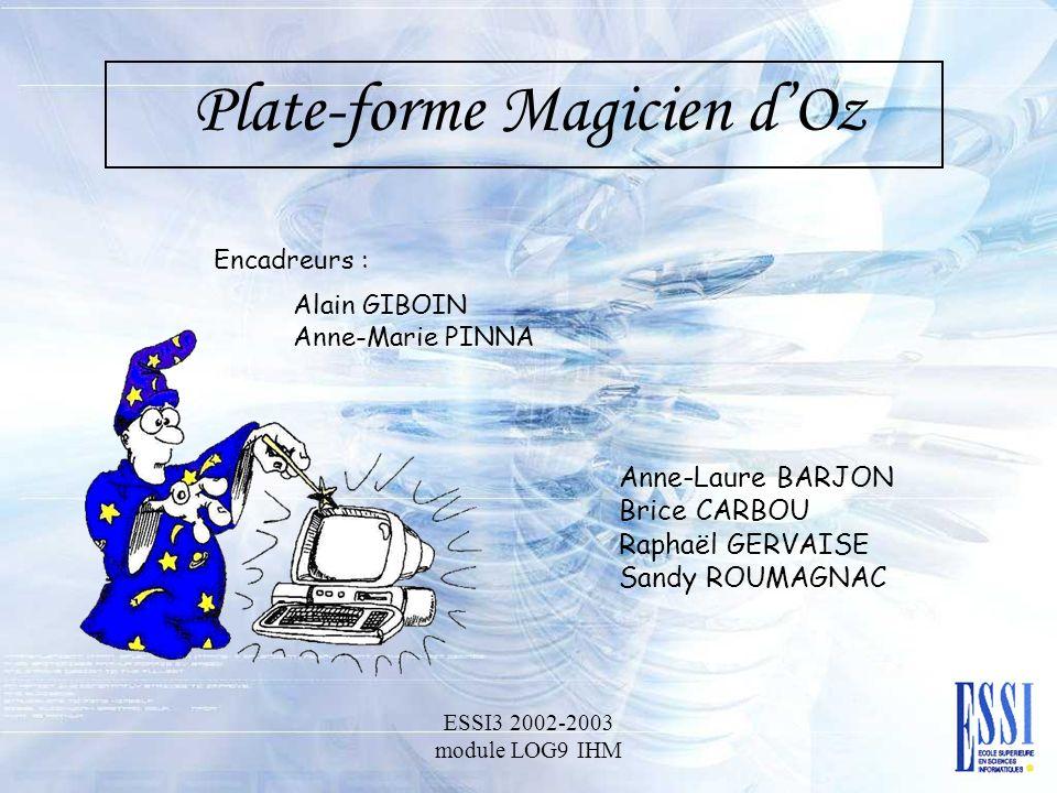 Plate-forme Magicien d'Oz