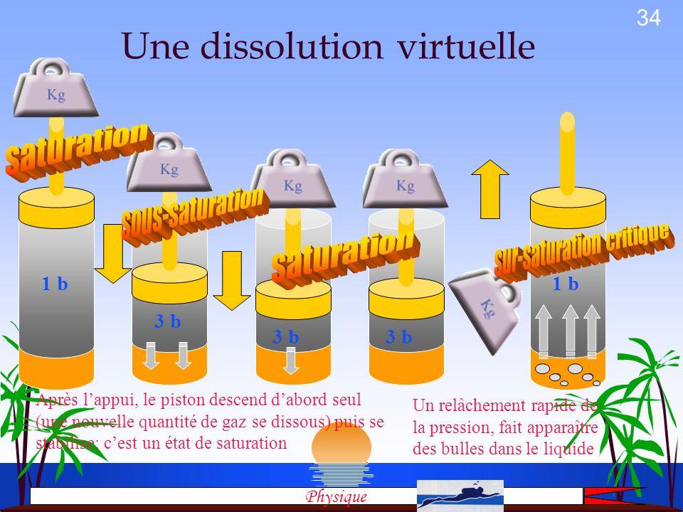 Une dissolution virtuelle