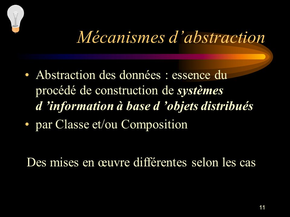Mécanismes d'abstraction
