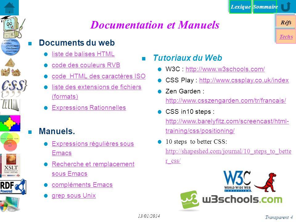 Documentation et Manuels