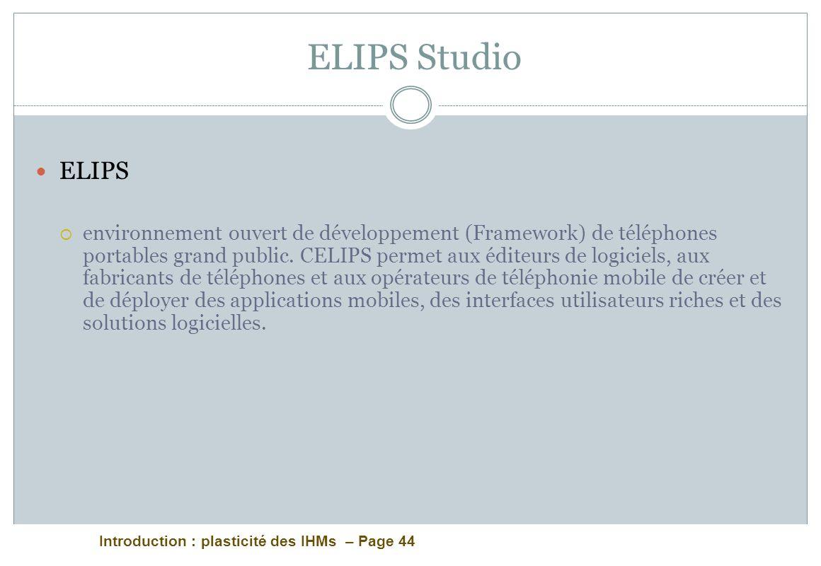 ELIPS Studio ELIPS.