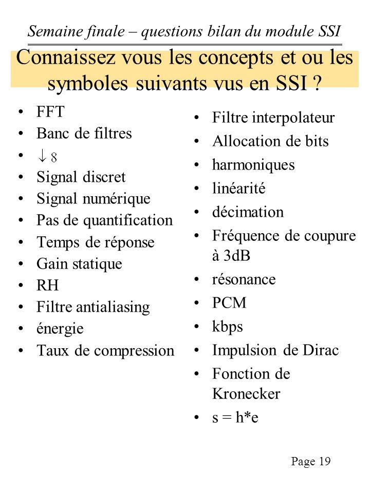 Connaissez vous les concepts et ou les symboles suivants vus en SSI