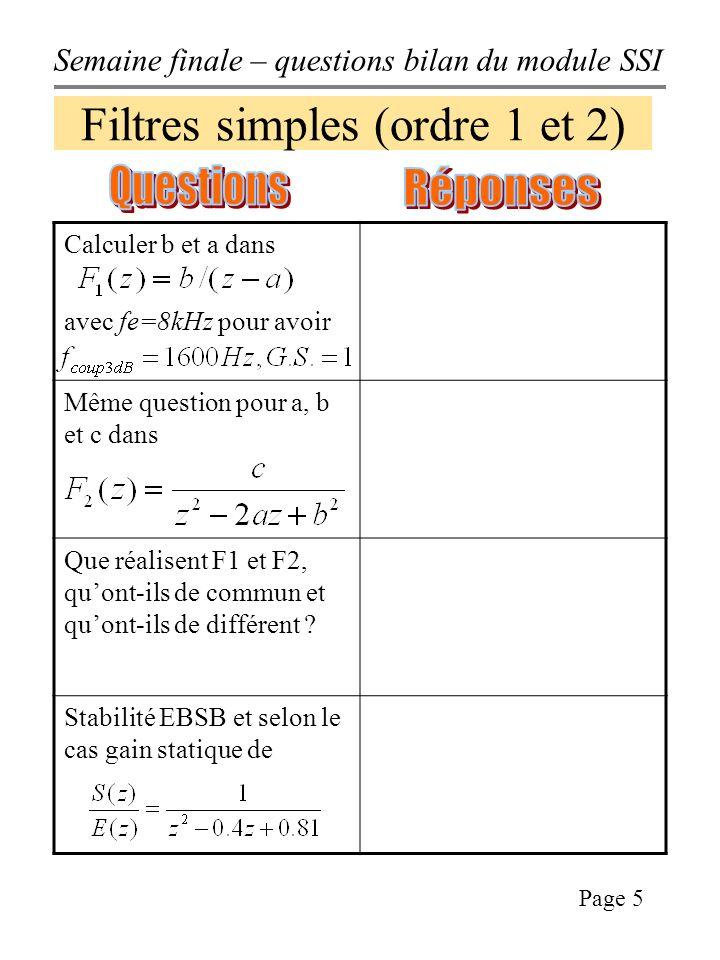 Filtres simples (ordre 1 et 2)