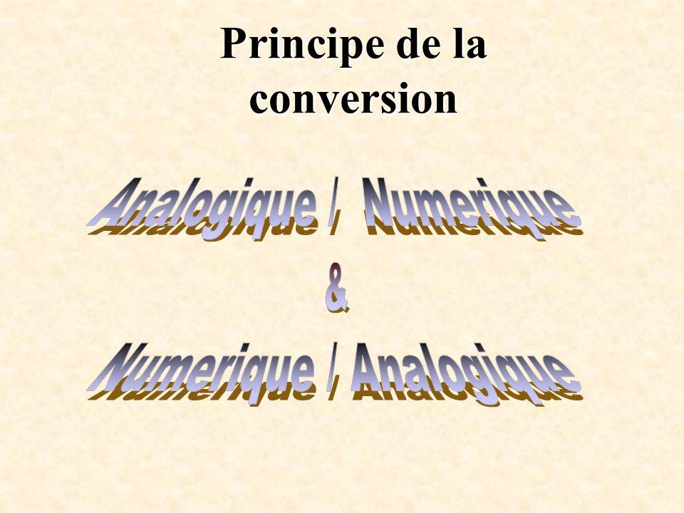 Principe de la conversion