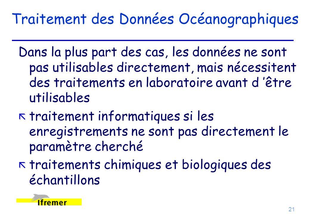 Traitement des Données Océanographiques