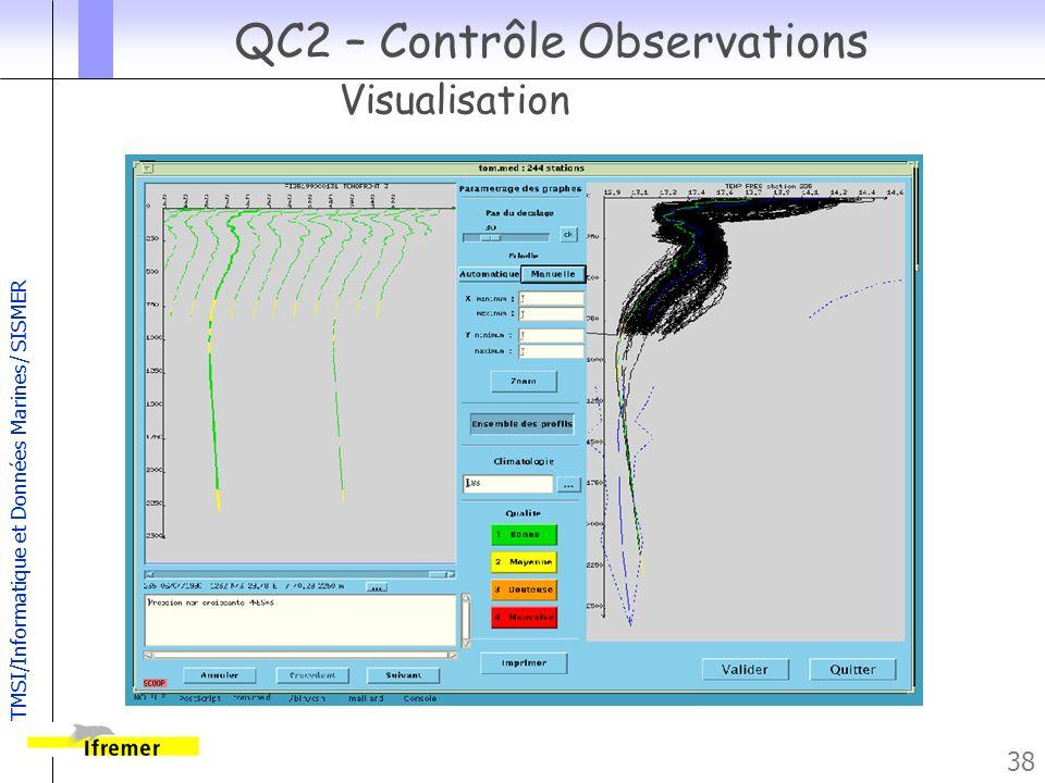 QC2 – Contrôle Observations Visualisation