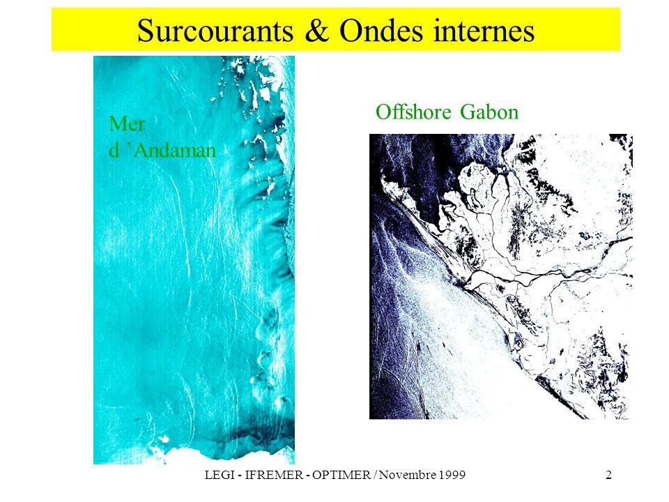 Surcourants & Ondes internes