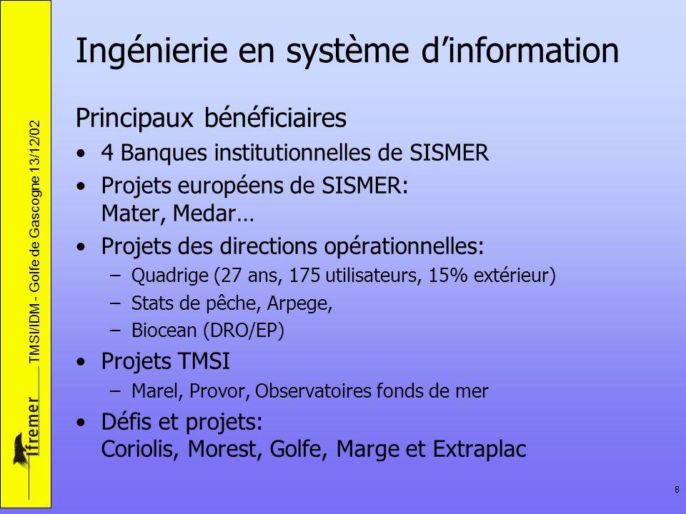 Ingénierie en système d'information