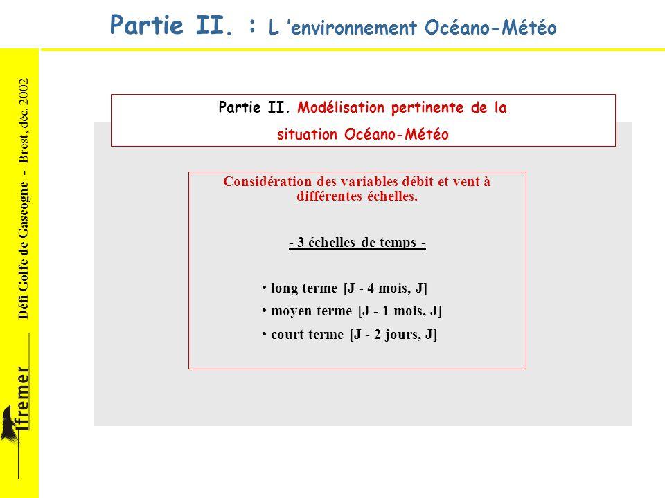 Partie II. : L 'environnement Océano-Météo