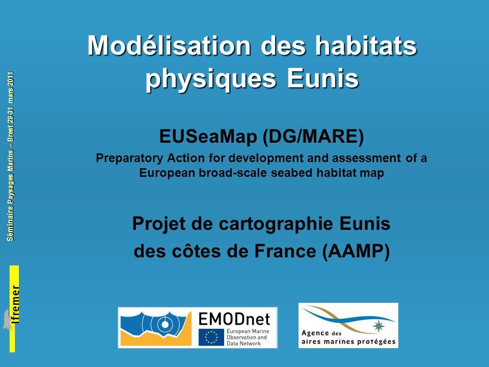 Modélisation des habitats physiques Eunis