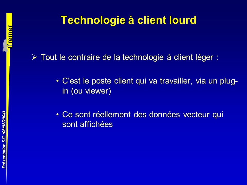 Technologie à client lourd