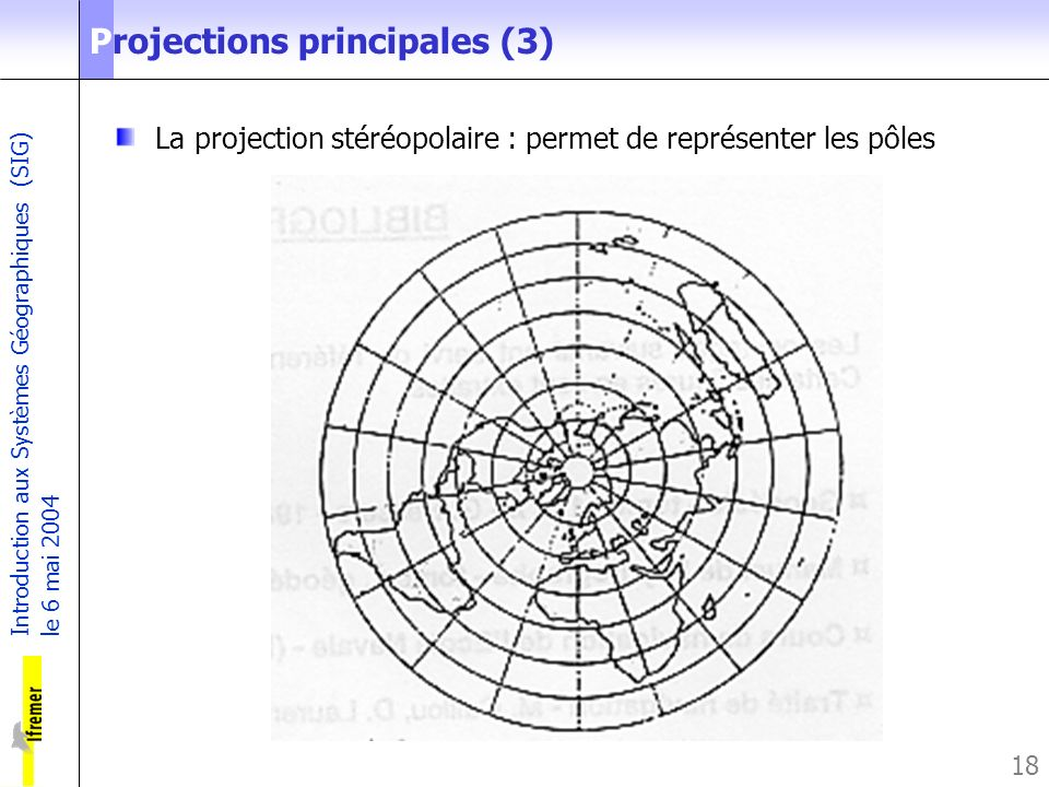 Projections principales (3)