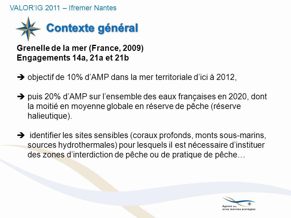 Contexte général Grenelle de la mer (France, 2009)