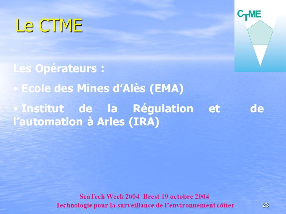 Le CTME Les Opérateurs : Ecole des Mines d'Alès (EMA)