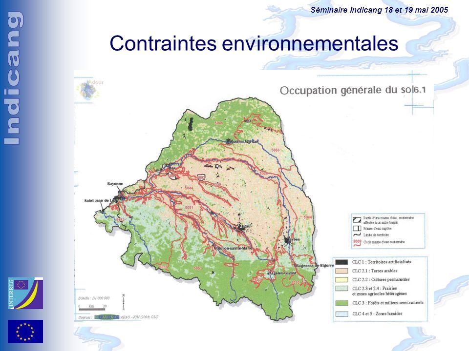 Contraintes environnementales