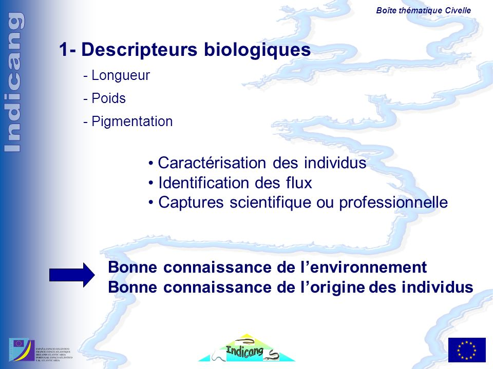 1- Descripteurs biologiques