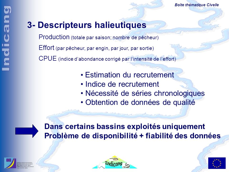 3- Descripteurs halieutiques