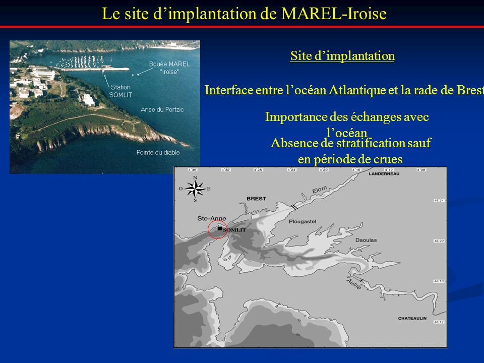 Le site d'implantation de MAREL-Iroise