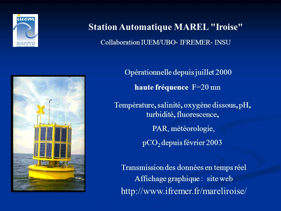 Station Automatique MAREL Iroise