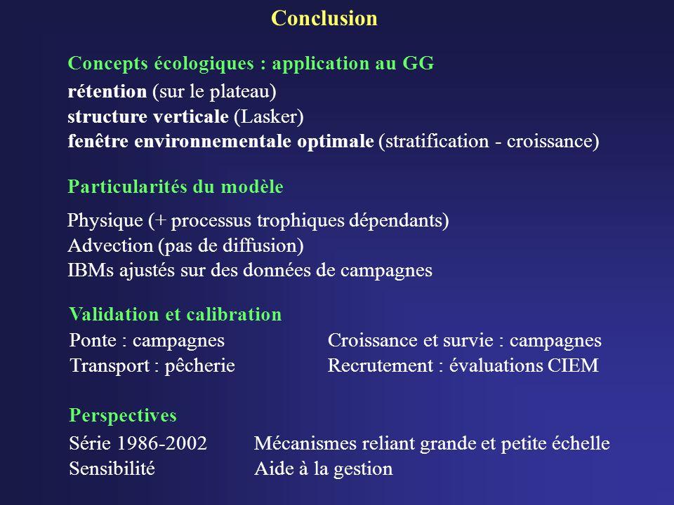 Particularités du modèle