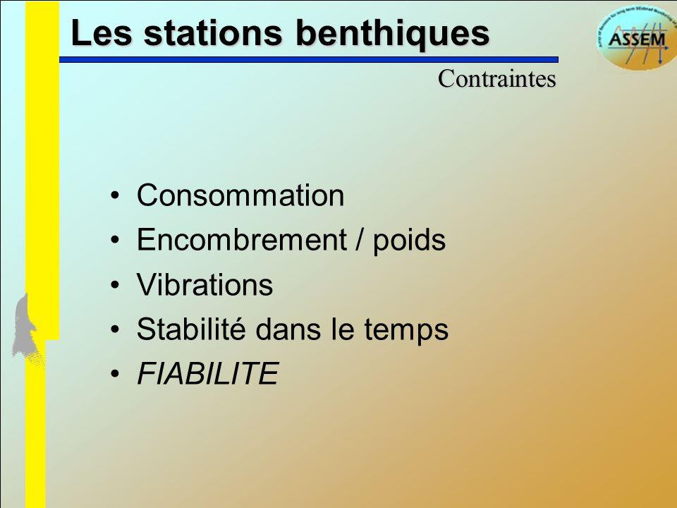 Les stations benthiques