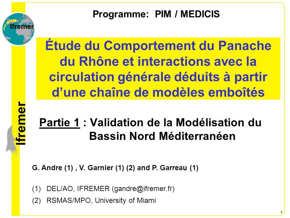 Programme: PIM / MEDICIS