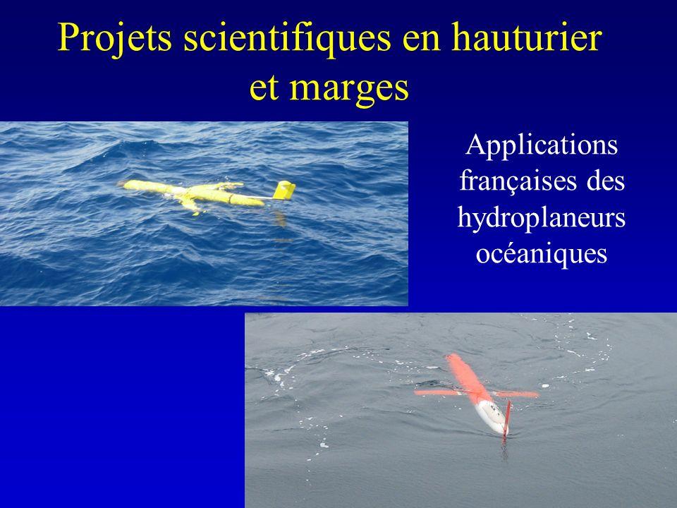 Projets scientifiques en hauturier et marges