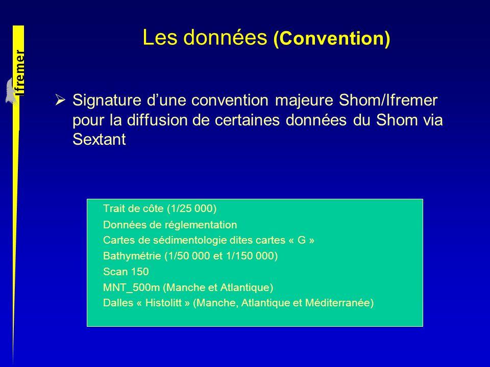 Les données (Convention)