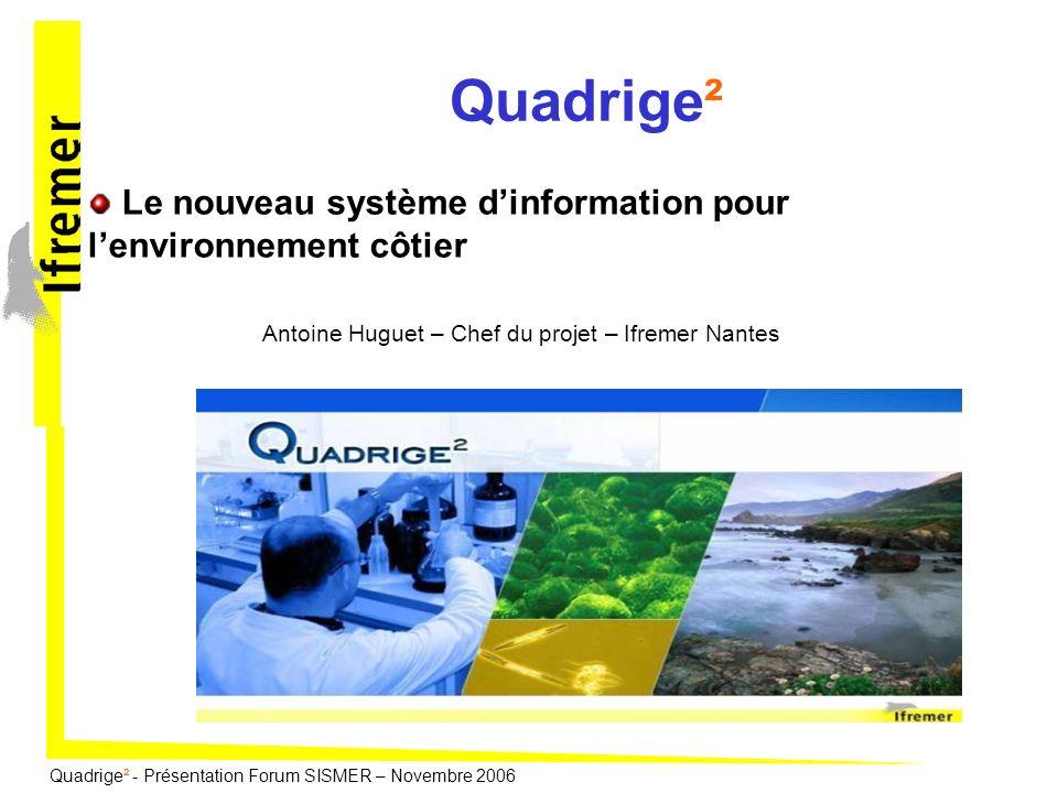 Le nouveau système d'information pour l'environnement côtier