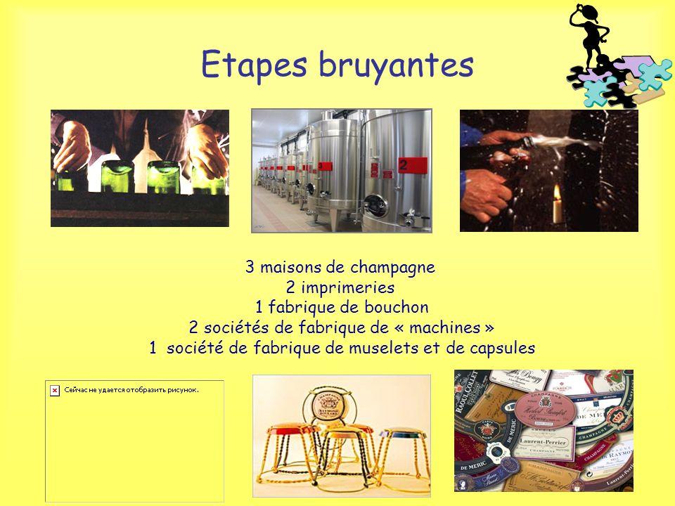 Etapes bruyantes 3 maisons de champagne 2 imprimeries