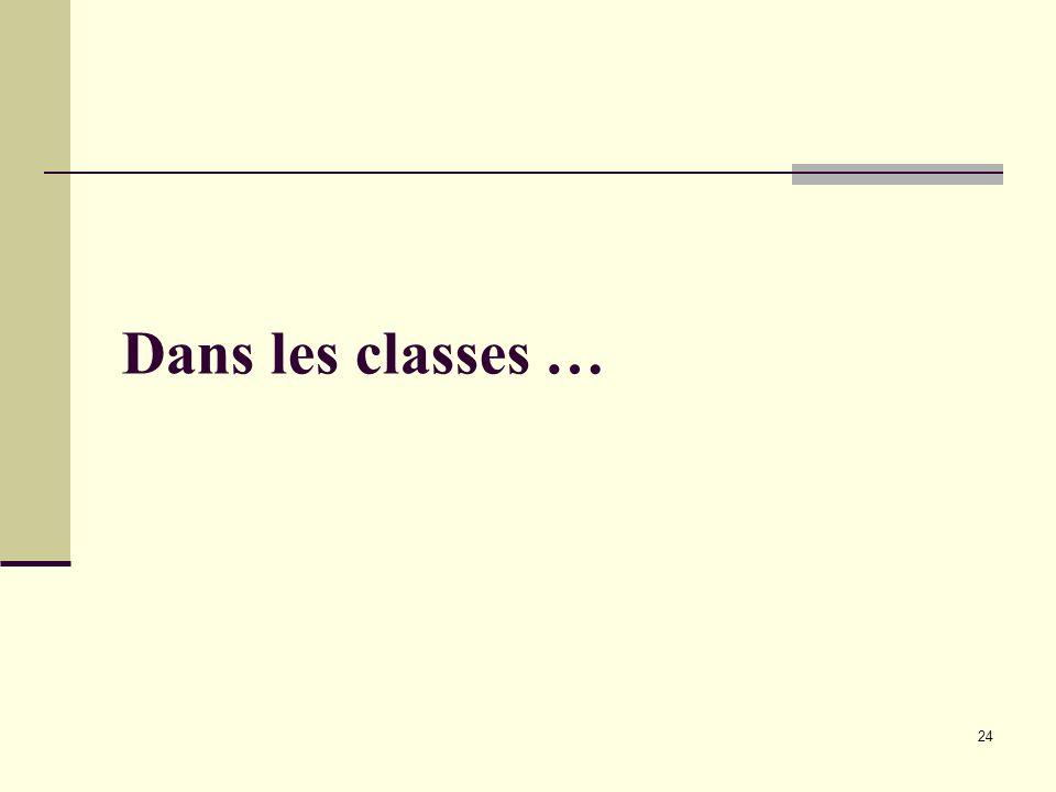 Dans les classes … I.Antoine IEN maternelle / extraits A.Houchot IGEN
