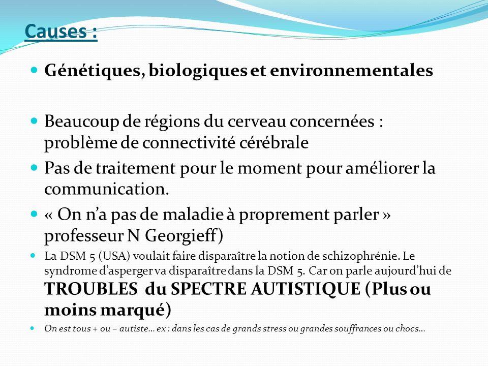 Causes : Génétiques, biologiques et environnementales