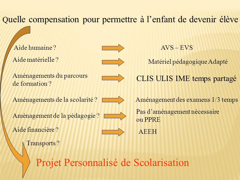 Projet Personnalisé de Scolarisation