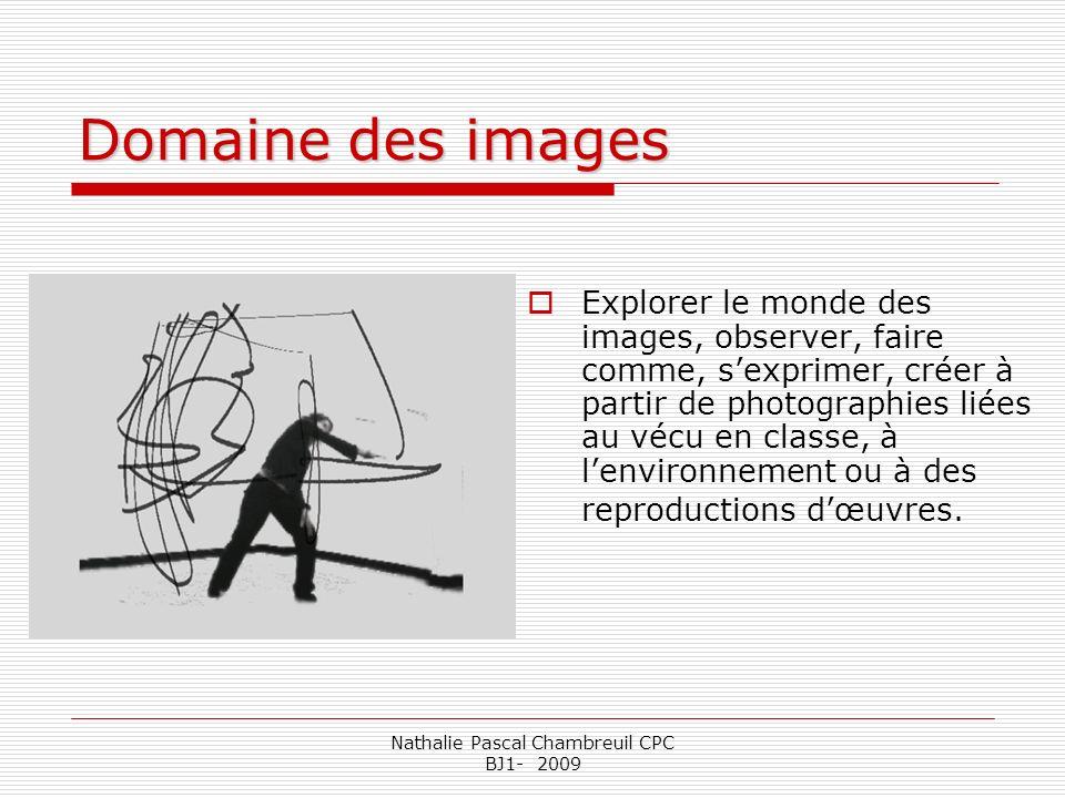 Nathalie Pascal Chambreuil CPC BJ1- 2009