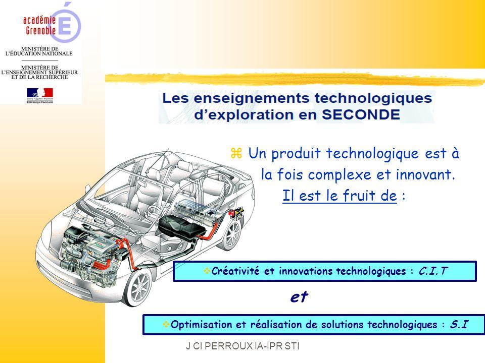 et Un produit technologique est à la fois complexe et innovant.