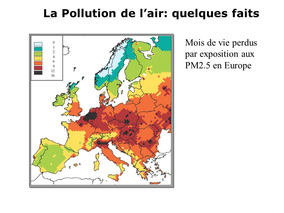 La Pollution de l'air: quelques faits