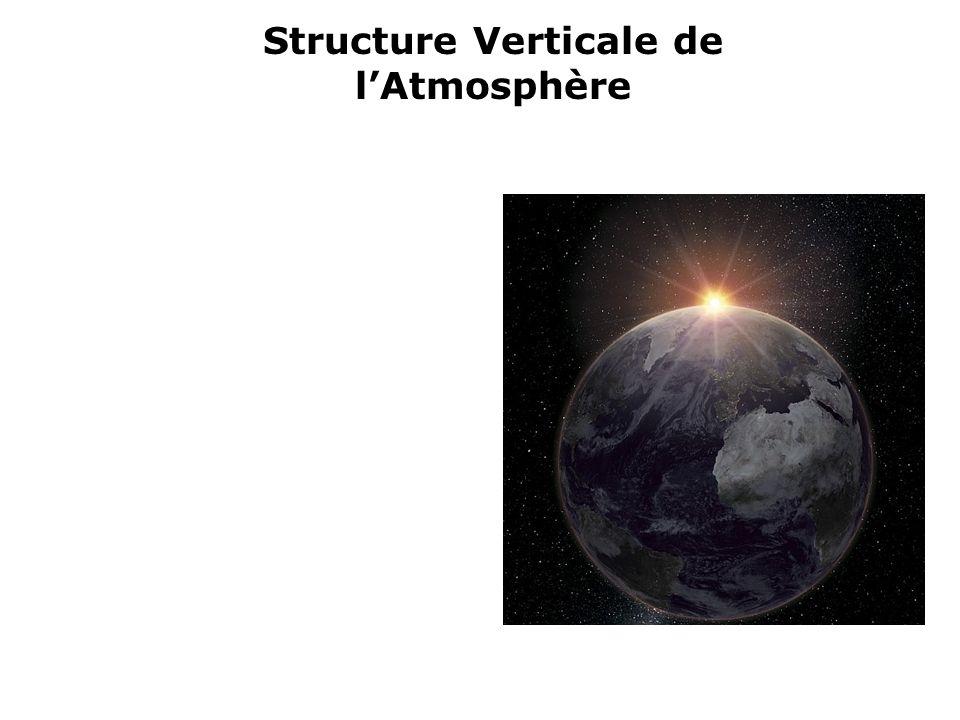 Structure Verticale de l'Atmosphère