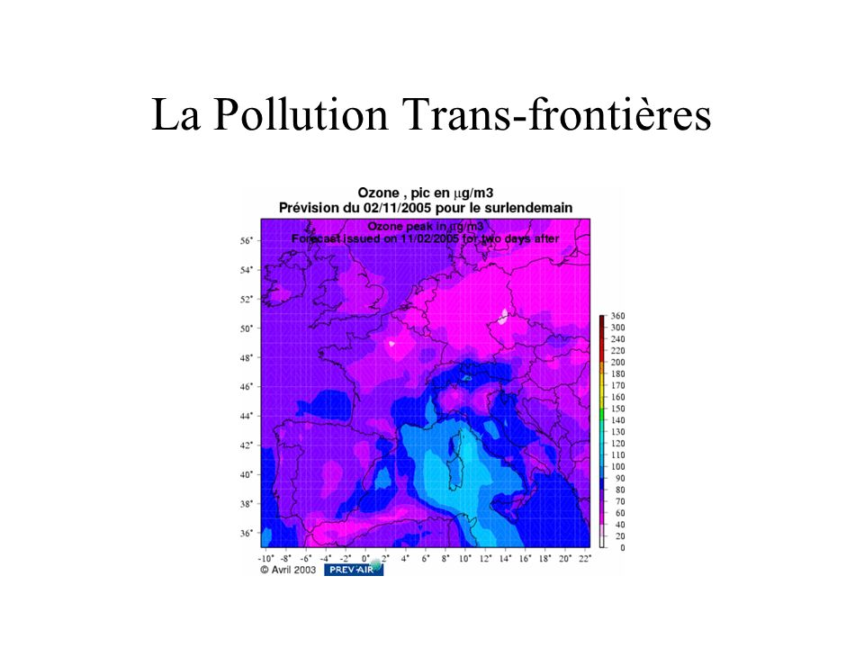 La Pollution Trans-frontières