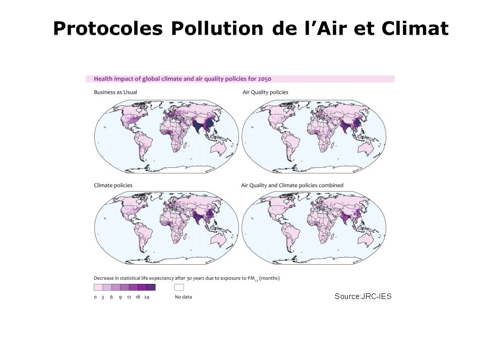 Protocoles Pollution de l'Air et Climat