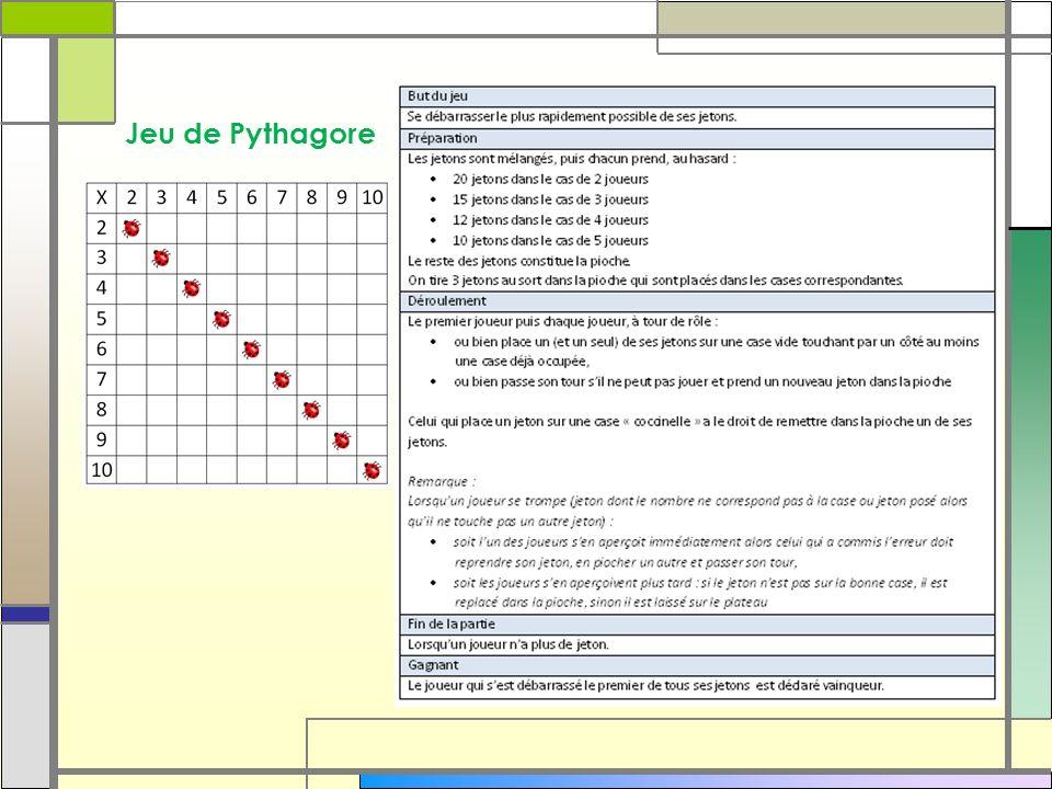 Jeu de Pythagore 47