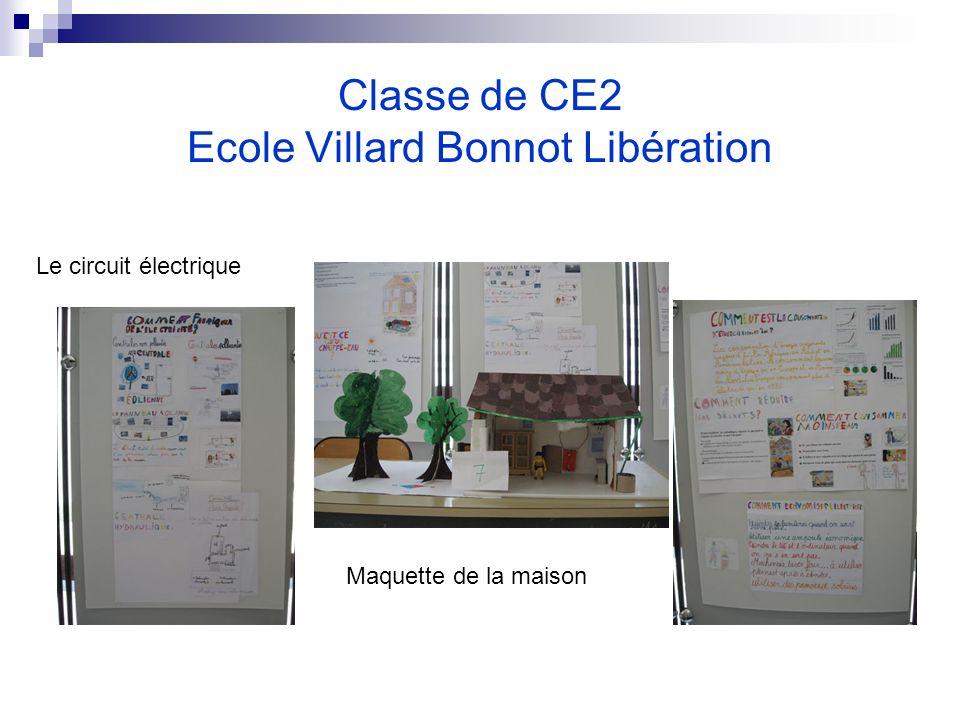Classe de CE2 Ecole Villard Bonnot Libération