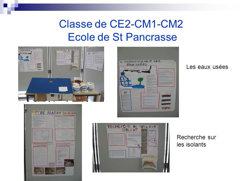 Classe de CE2-CM1-CM2 Ecole de St Pancrasse