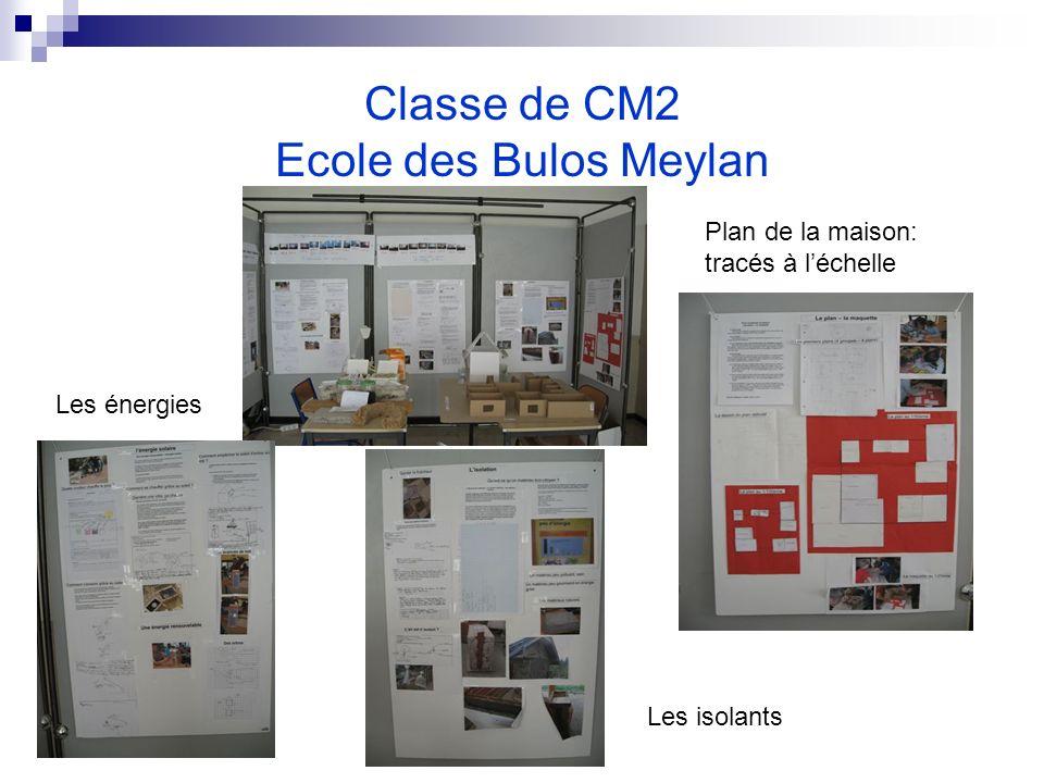 Classe de CM2 Ecole des Bulos Meylan